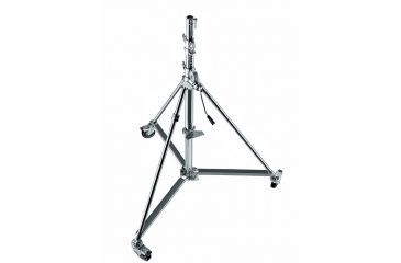 Avenger Super Wind-up Stand W/stainless Steel Base And Braked Wheels B250X