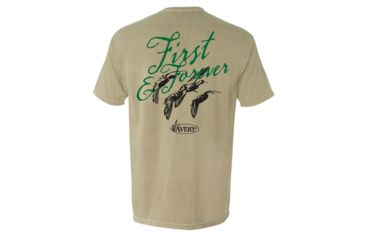 afc8c26f40a95 Avery Outdoors First & Forever Short Sleeve Tee - Men's, Khaki, Large 43242