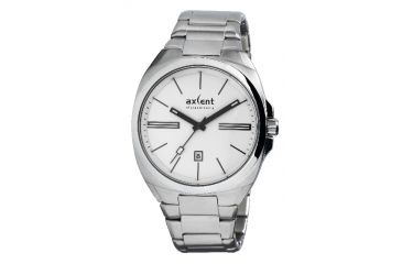 Axcent Impact Watch, Silver Bracelet, White Face, Black Hands X20843-132