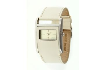 Axcent Studio Watch, Cream Strap, Cream Face, Silver Hands X31011-030