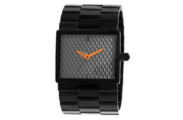 Axcent Godfather Watch, Black Bracelet, Gray Face, Orange Hands X33032-252
