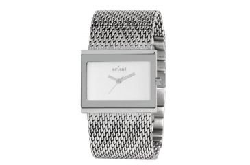 Axcent Precision Watch, Silver Mesh Strap, Silver Face, Silver Hands X61944-632