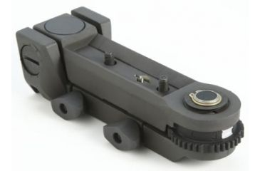 B.E. Meyers GBD-III Rail-Mount, This Is Required For Weapon-Mounting And Aligning The Laser, Black 855-ELC556MT