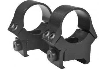 B-Square InterLock Fixed Rings, Standard Dovetail, 1in Rings, Blue 1008484