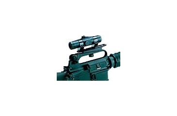B-Square Modern Military Mounts (Includes 1'' rings) - Colt AR-15/16, M16 Carry Handle Mount, Blue 18526
