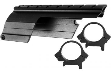 B-Square Shotgun Saddle Mount, Rings, Blued 16585