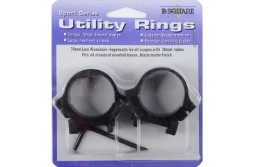 B-Square Sport Utility Rings, 30mm Standard Dovetail, Low, Blued 20062