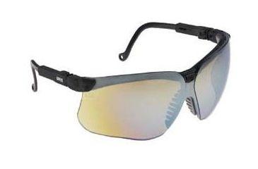 Bacou-Dalloz Uvex Genesis Protective Eyewear, Bacou-Dalloz S3210X Black Frame, Each