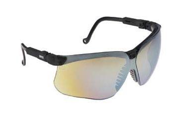 Bacou-Dalloz Uvex Genesis Protective Eyewear, Bacou-Dalloz S3210X Black Frame