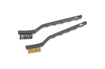 Bald Eagle 2 Pc. Nylon and Phosphor Bronze Cleaning Brush Set BE1053