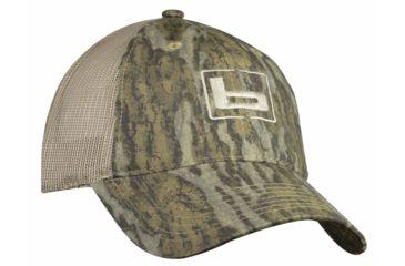 45bec922337 Banded Trucker Cap - Bottomland Brown Mesh - w  b Logo