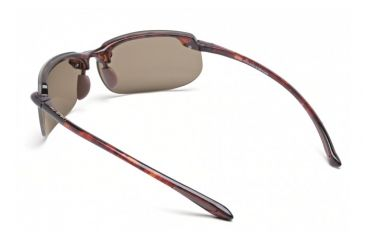Maui Jim Banyans Sunglasses w/ Tortoise Frame and HCL Bronze Lenses - H412-10, Back View