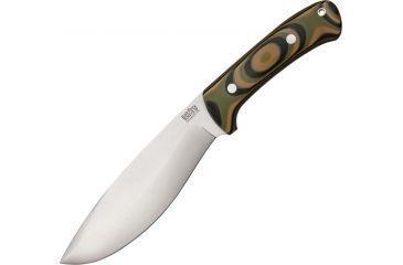 Bark River Grasso Bolo 1, Steel Blade, Mil Spec Camo G-10 Handle BA06125GMSC