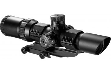 Barska 1-4x28 Mil Dot Reticle Riflescope AC11872, Color: Black, Tube Diameter: 1 in, 51% Off w/ Free S&H
