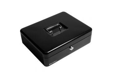 Barska 12in. Cash Box, 6 Compartment Coin Tray w/ Key Lock, Closed CB11790