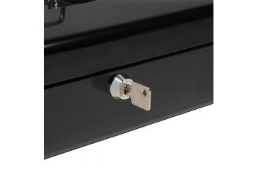 Barska 12in. Cash Box, 6 Compartment Coin Tray, Lock CB11790