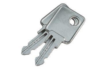 Barska 12in. Cash Box w/6 Compartment Coin Tray, Keys CB11790