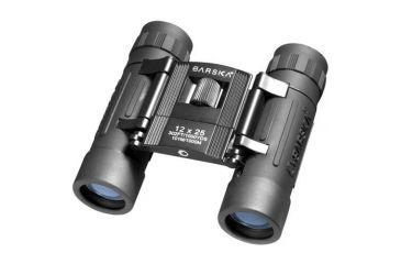 Barska 12x25 Lucid View Binoculars - Black AB10209 clamshell package AB10209