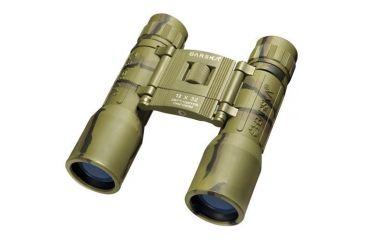 Barska 12x32 Lucid View Compact Roof Prism Binoculars, Camo, Clam Pack - AB10121
