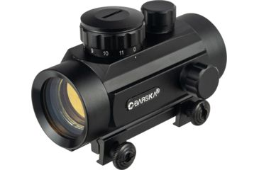 1-Barska 1x30 Red Dot Scopes AC10328 - 30mm Red Dot Sights w/ 5 MOA Reticle