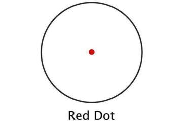 6-Barska 1x30 Red Dot Scopes AC10328 - 30mm Red Dot Sights w/ 5 MOA Reticle