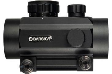 2-Barska 1x30 Red Dot Scopes AC10328 - 30mm Red Dot Sights w/ 5 MOA Reticle