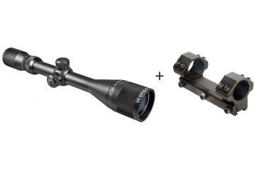 Barska 3-12x40 Air Gun Riflescope w/ Leapers Accushot Premium Airgun .22 Full Length Integral Medium Profile Mount