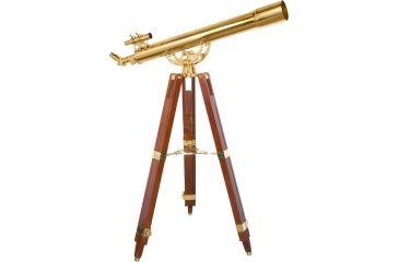 1-Barska 36x80mm Anchormaster Telescope, Sky & Land Brass Scope w/ Mahogany tripod AE10824
