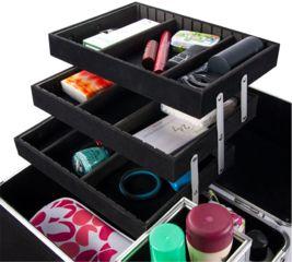 Barska Chéri Bliss Cosmetic Case CC-200, Black BF11984
