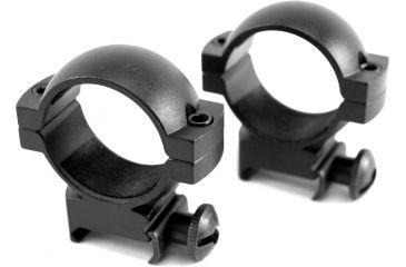 Barska Rifle Scope Rings - 30mm High,Standard Base, Black