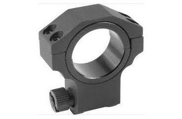 Barska Riflescope Rings - 30mm w/ 1in Insert, Low Height, Matte Black, Ruger Style - AI11059