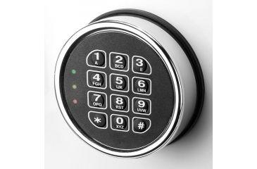 5-Barska White Keypad Jewelry Safe, Light Interior