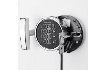 6-Barska White Keypad Jewelry Safe, Light Interior