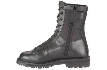 Bates Footwear 8in DuraShocks Lace-to-toe Side Zip Boot, Black, 08.0M 018464229288