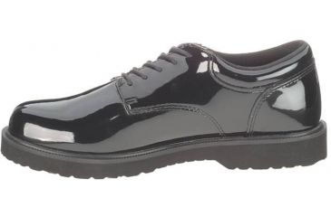 Bates Footwear Men's High Gloss Duty Oxford, Black, M 10.5 098681653752