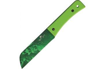 Bear Ops Undead, Bear Tac II, 1095 Carbon Steel Blade, Neon green G-10 Handle BC37005