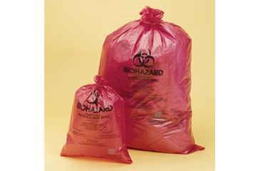 Bel-Art Bag BIOHAZDISPOSAL25X35INPK200 131642535