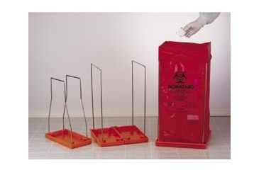Bel-Art Clavies Biohazard Bag Holders, Autoclavable, SCIENCEWARE 131920003