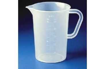 Bel-Art Graduated Pitchers, Tall Form, Polypropylene, SCIENCEWARE 289900000
