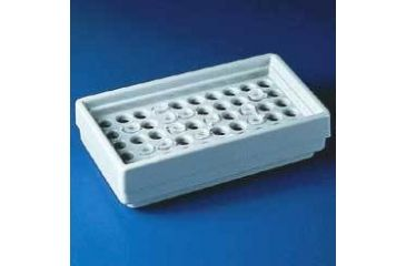 Bel-Art Microcentrifuge Tube Refrigerator Racks, SCIENCEWARE 189050001 Polypropylene