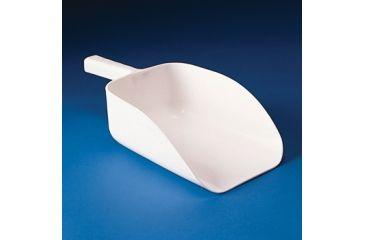Bel-Art Scoop White Styrene 6/BG F367580000