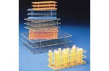 Bel-Art Wire Racks, Epoxy-Coated 187556001 Blue
