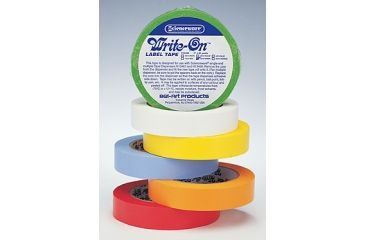 Bel-Art Write-On Label Tape, SCIENCEWARE F134623010 Tape Rolls With 2.5 Cm (1) Dia. Core
