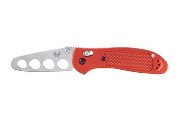 Benchmade 551 Griptilian Knife by Pardue Design w/ Trainer Blade & Red Handle 551T