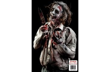 BenchMaster Zombie Shooting Targets - Creepy Guy - 10 pack ZST-09Z
