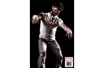 BenchMaster Zombie Shooting Targets - Guy Missing Face - 10 pack ZST-08Z
