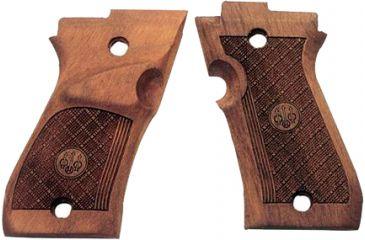 Beretta 87 Target Wood Grips, Left handed E00307