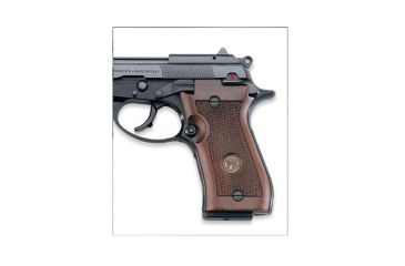 Beretta 87, Wood Grip With Beretta Medallion JG87W