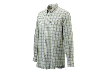 Beretta Mens Seersucker Button-Down Long Sleeve Plaid Shirt  519692950