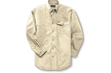 Beretta Shirt TM Shooting, Long Sleeve, Tan, Lg LU19756108L